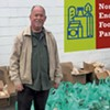 Thom Terrific: Burlington Man Turns His Small Food Pantry Into a Neighborhood Staple