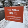 Signs Opposing Eviction Restrictions in Order to 'Protect BIPOC Tenants' Cause Stir