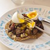 Farmers Market Kitchen: Honeyed Ham-and-Blue Tostada