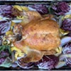 Home on the Range: Roast Chicken With Radicchio, Shallots and Delicata Squash