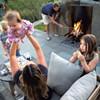 DIY: Backyard Stone Fire Pit