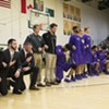 Saint Michael's Basketball Players Take a Knee Before UVM Game