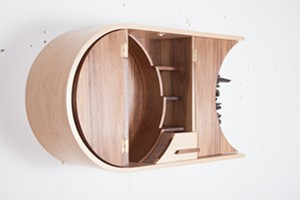 COURTESY OF FROG HOLLOW VERMONT CRAFT GALLERY - Woodwork by Alex Kolnberger