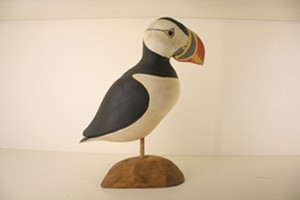 """COURTESY OF HENRY SHELDON MUSEUM OF VERMONT HISTORY - """"Puffin"""" by Gary Starr"""