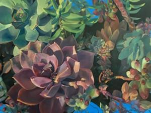 "COURTESY OF MERYL LEBOWITZ - ""The Stolen Garden"" by Meryl Lebowitz"