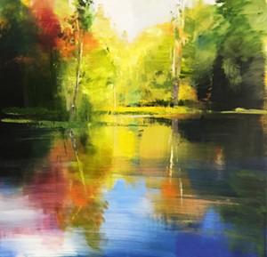 "COURTESY OF GREEN MOUNTAIN FINE ART - ""Autumn Reflection"" by Craig Mooney"