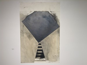 """COURTESY OF WHITE RIVER GALLERY - """"Free Fall,"""" graphite on paper by Gerald Auten"""
