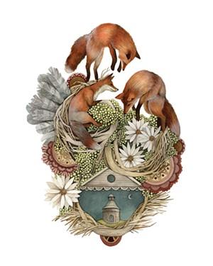 "COURTESY OF SEABA - ""House of Fox"" by Jess Polanshek"