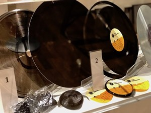 COURTESY OF VERMONT HISTORY MUSEUM - Burlington Record Plant vinyl
