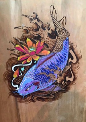 Artwork by Tom Ball - Uploaded by Geoff Hansen