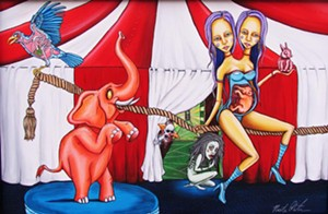 "COURTESY OF MAGIC HAT ARTIFACTORY - ""Cirque du Horreur"" by Nicole Christman"