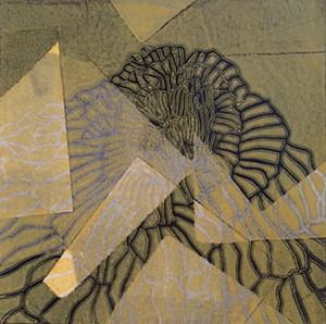 COURTESY OF TWO RIVERS PRINTMAKING STUDIO - Untitled monoprint by Sheri Hancock-Tomek