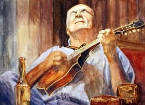 "COURTESY OF VALLEY ARTS FOUNDATION - ""Traditional Music, Maple Leaf Pub, Glengarrif"" by David Beale"