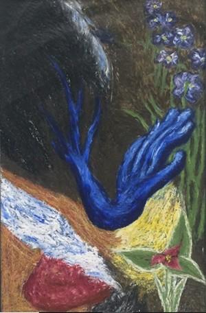 "COURTESY OF JULIAN SCOTT MEMORIAL GALLERY - ""Awakening"" by Kalob Gabree"