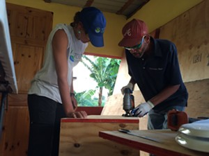 Constructing a composting toilet - Uploaded by Yestermorrow Design/Build