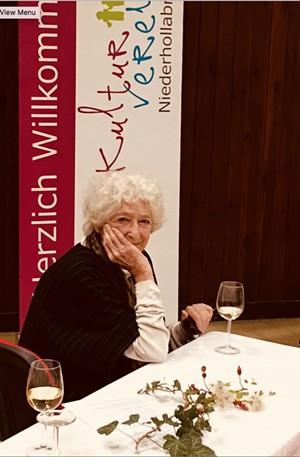 Writer and Kindertransport survivor Lore Segal - Uploaded by Karin Hanta