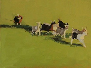 """COURTESY OF NORTHERN DAUGHTERS - """"Kid Goats Running"""" by Hannah Sessions"""