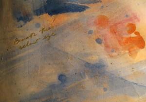 "COURTESY OF RACHEL BAIRD - Painting detail from ""Celestial Verses"" by Rachel Baird"