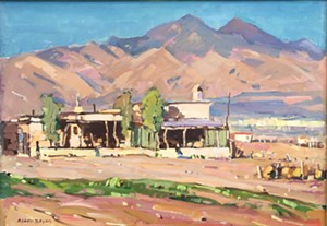 "COURTESY OF BRYAN MEMORIAL GALLERY - ""Tubac, Arizona"" by Alden Bryan"
