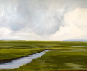 "COURTESY OF EDGEWATER GALLERY - ""Passing Storm"" by Jill Matthews"