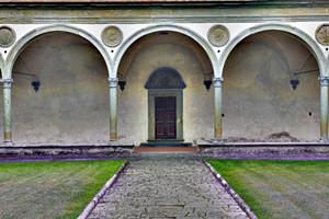 COURTESY OF MICHAEL JERMYN - Santa Croce Cloisters by Michael Jermyn