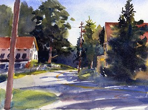 Painting by a member of the Vermont Watercolor Society - Uploaded by Valleyartsvt