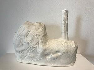 """COURTESY OF BIGTOWN GALLERY - """"French Vase"""" by Liz Quackenbush"""