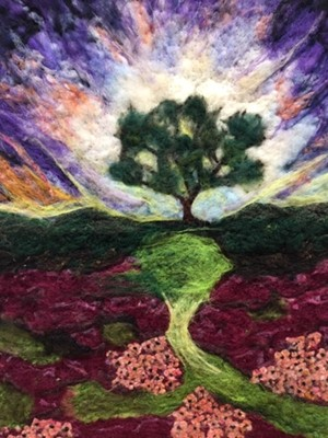 """COURTESY OF RIVER ARTS - """"Tree of Life,"""" artist unidentified"""