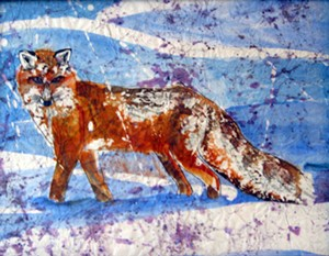 """COURTESY OF THE STRAND CENTER FOR THE ARTS - """"Fox"""" by Anne Bailey"""