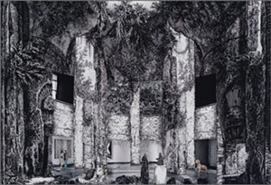 "COURTESY OF THE ARTIST - ""Faux Site, Museum (after Piranesi) by Gisele Amantea"