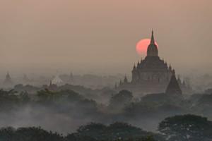 """Mystical Bagan"" by Jeff Dannay - Uploaded by Thedark Room"