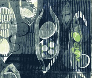COURTESY OF TWO RIVERS PRINTMAKING STUDIO - A print by Janet Cathey