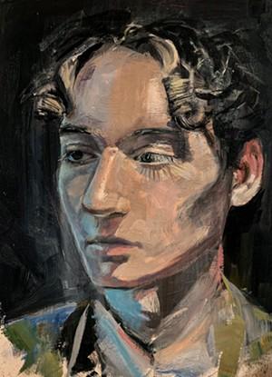 COURTESY OF NORWICH UNIVERSITY - Self-portrait by Cole Glover