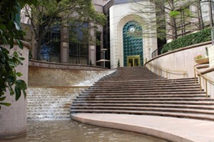 """COURTESY OF MILTON ARTISTS GUILD - """"Steps of San Antonio"""" by Jessica Remmey"""