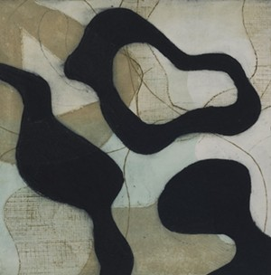 "COURTESY OF TWO RIVERS PRINTMAKING STUDIO - ""Evolutions VII - I/I"" by Lois Masor Beatty"