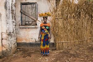 "COURTESY OF BMAC - ""Kadatu, Fruit Vendor in Port Loko, Sierra Leone"" by Alison Wright"