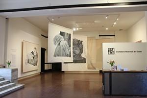 COURTESY OF ERIN JENKINS, BMAC - Steven Kinder installation view
