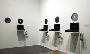 COURTESY OF ERIN JENKINS, BMAC - Installation of found sound compositions by Roger Clark Miller