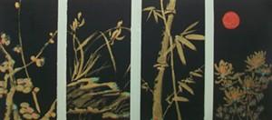 """COURTESY OF JACKSON GALLERY - """"Seasons"""" by Yinglei Zhang"""