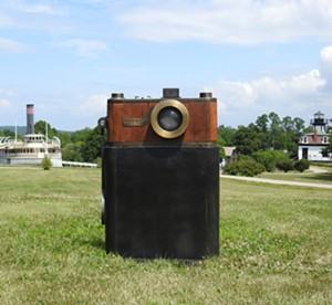 "COURTESY OF THE ARTIST AND SHELBURNE MUSEUM - ""Luxus Camera"" by Peter Kirkiles"
