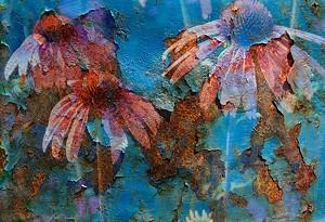 """""""Rustic Flowers"""" by Roarke Shallow - Uploaded by Valleyartsvt"""