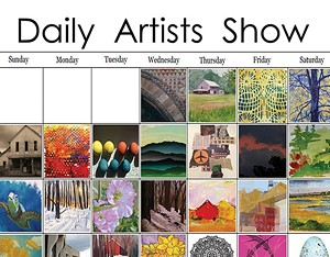 COURTESY OF ARTISTREE GALLERY - Poster for Daily Artist Show