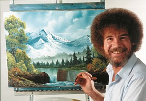 Bob Ross - Uploaded by Amy from Vermont PBS