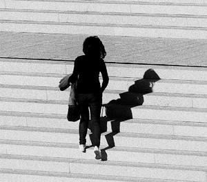 """COURTESY OF DARKROOM GALLERY - """"Staircase"""" by Anita Schiedeck"""