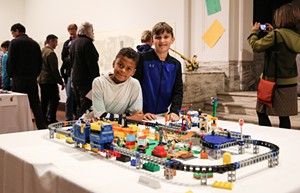 COURTESY OF MICHELLE FREHSEE - From BMAC's 2019 Annual Lego Contest & Exhibit