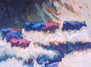"""COURTESY OF NEK ARTISANS GUILD - """"The Far Side"""" by Robert J. Chapla"""