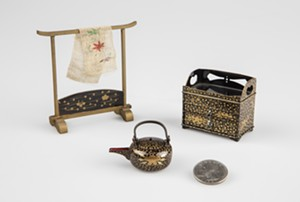 COURTESY OF THE FLEMING MUSEUM - Miniatures from the Fleming Museum collection