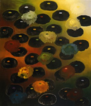 "COURTESY OF BRATTLEBORO MUSEUM & ART CENTER - ""Dream and Do"" by Ross Bleckner"