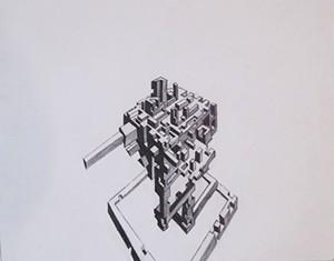 "COURTESY OF YURI HARRIS - ""Conviction,"" pencil on paper by Yuri Harris"