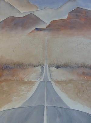 "COURTESY OF NEK ARTISANS GUILD - ""The Road II"" by Jenny Green"